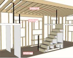 hOMe Tiny House Plans   TinyHouseBuild comMorrison hOMe Sketch Up model framing interior