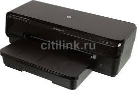 Купить <b>Принтер</b> струйный <b>HP OfficeJet 7110</b> WF, цвет: черный в ...