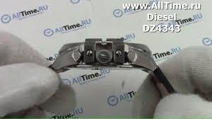Обзор. Мужские наручные <b>часы Diesel</b> DZ4343 с хронографом ...