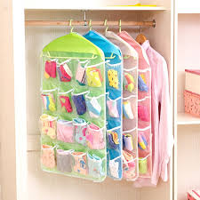 4 <b>Colors 16</b> Pockets Clothes Storage Bag, <b>Hanging</b> Wardrobe Door ...