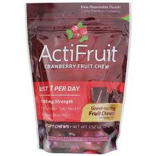 <b>ActiFruit Cranberry Fruit Chew</b>, Enzymatic Therapy