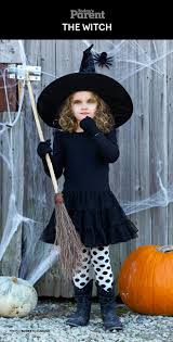 DIY Classic <b>Witch</b> Kids <b>Halloween Costume</b>. #TodaysParent ...