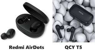 <b>QCY T5</b> VS Xiaomi Redmi AirDots: Specs Latency and Sound ...
