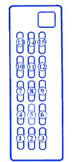 1992 miata fuse box diagram 1992 image wiring diagram mazda v6 1992 mini fuse box block circuit breaker diagram carfusebox on 1992 miata fuse box