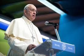 Resultado de imagem para Fotos do papa discursando na Bolívia