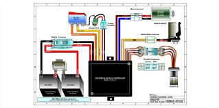 razor e100 and e125 electric scooter parts electricscooterparts com razor e100 and e125 wiring diagram version 16