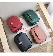 VENOF Fashion split leather crossbody <b>bag</b> for women solid flap ...