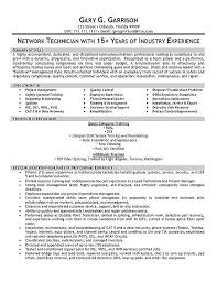 sample resume extec  a jpg Resume Resource Telecom Technician Resume Example