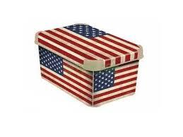 <b>Ящик Curver Stockholm</b> S USA Flag (2878903) купить за 349 руб в ...