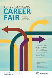 career fair posters on behance thank you