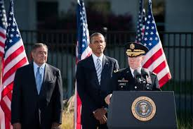 u s department of defense photo essay obama panetta dempsey commemorate 11th anniversary of 9 11 terrorist attacks