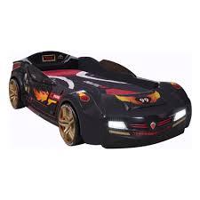 <b>Кровать</b>-<b>машина Cilek Biturbo</b> черная — купить в интернет ...