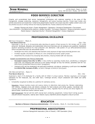 food service director resumes template food service director resumes