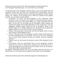 calam atilde copy o five paragraph narrative essay you can write your own fable