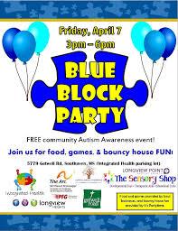 the arc northwest mississippi blue block party celebrate autism awareness
