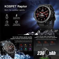 <b>KOSPET</b>-<b>Raptor</b> Smart for Men 1.3 <b>Outdoor</b> Smart with 20 Sports ...
