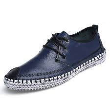 <b>Big Size</b> Cap-toes <b>Stitching Lace</b> Up Sport Flat Casual Shoes For Men