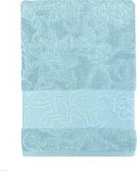<b>Полотенце</b> банное <b>Bonita Азалия</b>, 21010118989, голубой, 90 х 50 ...