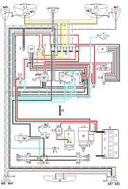1974 vw bug wiring diagram wirdig