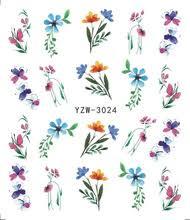 LCJ 1 шт цветок блестящие <b>наклейки для ногтей</b> переводная ...