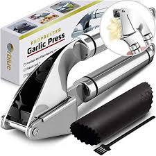 ORBLUE <b>Garlic</b> Press [Premium], <b>Stainless Steel</b> Mincer, <b>Crusher</b> ...