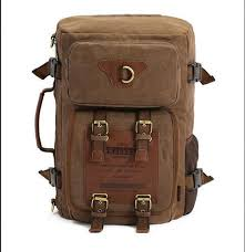 <b>Men'S Backpack</b> Canvas <b>Cross Border</b> Computer Bag Practical ...