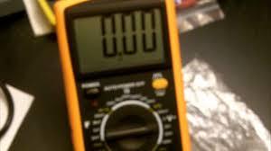 EXCEL <b>DT9205A</b> $10 Digital Multimeter overview and demostration ...