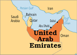 Image result for united arab emirates map