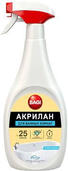 <b>Средство</b> для ванных комнат <b>Bagi Акрилан</b>, B-208214-N, 400 мл ...