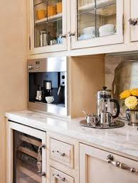 thirst quencher butlers pantry includes a wine chiller coffee maker refrigerator ice built coffee bar makeover