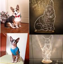 <b>Custom Photo 3D</b> Lamp