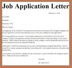 job application letter samplebusiness letter examples   business    job application letter