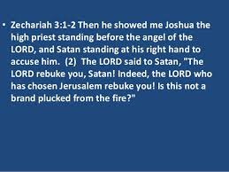 Image result for Zechariah 3:1