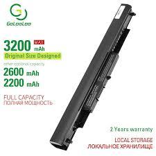 <b>Golooloo 4 cells laptop</b> battery for HP LA04 LA04DF HSTNN IB5M ...