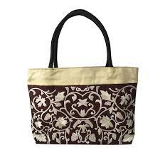 <b>Brocade Embroidered Silk</b> Shoulder Fashion Handbag - Luxury ...