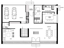 Ideas layout of a houseNeat house layout plan massive concrete glass residence