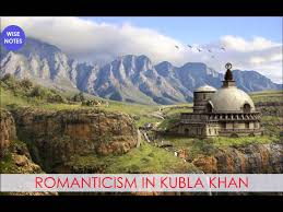 r ticism in kubla khan c u english honours notes the wise the kingdom of xandu as pictured by kubla khan