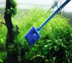 Magic <b>Aquarium Cleaner</b> Window Crystal Seaweed Scraper 2 Head ...