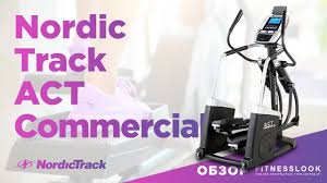 Тренажер <b>NordicTrack A.C.T. Commercial</b> 7 - YouTube