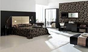 room elegant wallpaper bedroom: elegant and luxurious modern bedroom design with matching wallpaper and bedding