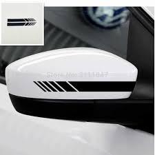 <b>2 pcs Car Styling</b> PVC Car Rear View Mirror Sticker Rain Eyebrow ...