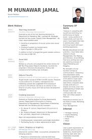 Sample Resume For Teachers Job In India My Perfect Resume