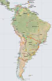central america caribbean and south america pipelines map crude click on the map to enlarge