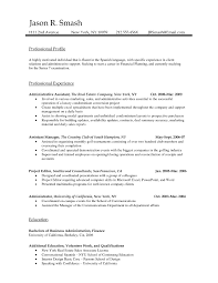 resume template administrative professional throughout 89 appealing professional resume templates template