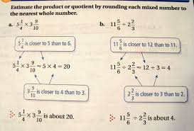 education research reform a parent s oped by katherine i have no memory of estimating fractions myself but i actually have no objection to learning the comparable sizes of them well enough to do so