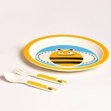 """<b>Набор</b> детской <b>посуды</b> из бамбукового волокна <b>Eco Baby</b> """"Пчёлка ..."""
