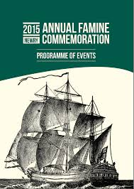 dr jason king irishcanadianfamineresearch newry famine commemoration programme booklet cover