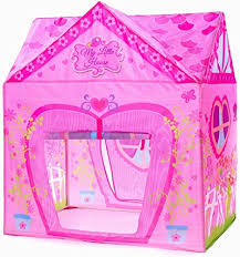 Kids Tent Princess Pink Flower Play Tent for Indoor ... - Amazon.com