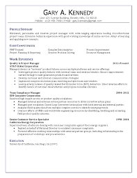 project manager resume resume samples