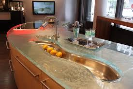 kitchen worktops ideas worktop full: view in gallery modern countertops unusual material kitchen glass jpg